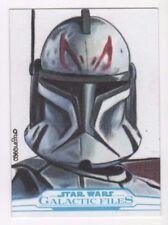 2017 Star Wars Galactic Files Reborn sketch card Carlos Cabaleiro