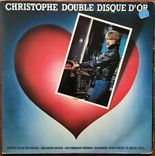 CHRISTOPHE Double disque d'or 1979 Disques Motors MTO 78001 French 70s Pop