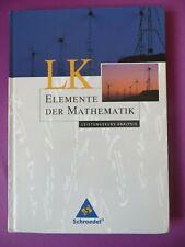 Schroedel Elemente der Mathematik LK Analysis gebunden 2003