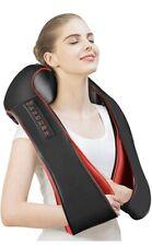Neck Shoulder Massager Electric Back Massage with Pillow Deep Heat Muscle Pain.