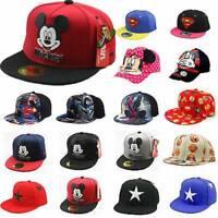 Toddler Kids Boys Girls Baseball Cap Sports Adjustable Snapback Hip-hop Sun Hat
