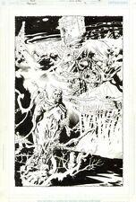 Hawkman #31 p.19 - Crazy Splash - 2004 art by Ryan Sook