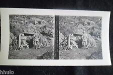 STB621 Chemin des dames 2èm Ligne Photo 1914 Stereo WW1 première guerre mondiale