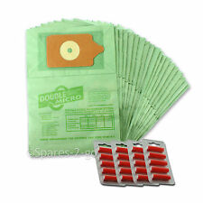 20 X Numatic Henry Hoover Vacuum Dust Bags and Air Freshener Sticks