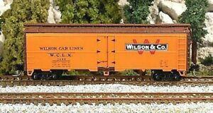 Z Scale WILSON 40' Steel Reefer #2099 ~ Orig. PENNZEE ~ NIB