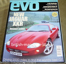 Evo Magazine Issue 14 Jag XKR vs Masarati 3200 GT Diablo E-type v 3500 GT CL500