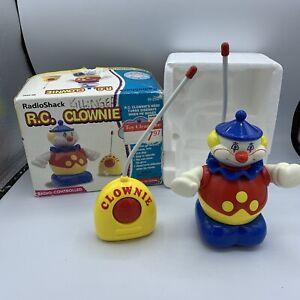 Vintage 1997 Radio Shack Radio Controlled RC Clown Tandy Creepy Clown Rare Car