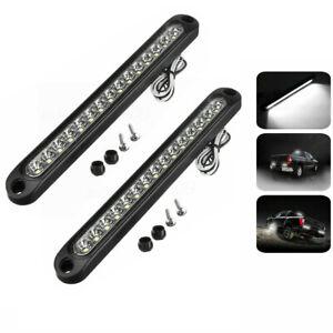 2x15LED Strip Light Bar Stop Turn Tail Reverse Backup For Pickup Truck Trailer