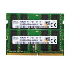 32GB SK Hynix 2X 16GB 2RX8 DDR4-2400T 2400MHz PC4-19200 SODIMM RAM Laptop Memory