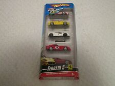 Hot Wheels Ferrari 5 Pack California 250 GTO 612 Scaglietti 355 Challenge Modena