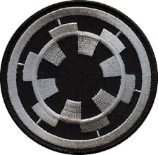 19522 Star Wars Imperial Target Stormtrooper Movie Embroidered Sew Iron On Patch