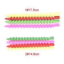 26x Plastic Barber Hairdressing Spiral Hair Perm Rod Salon Tool Durable G Small