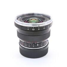 Carl Zeiss Distagon T* 18mm F/4 ZM Black (for Leica M mount) -Near Mint- #101