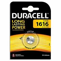 2 x Duracell CR1616 3V Lithium Coin Cell Battery DL1616 1616 BR1616 ECR1616