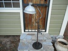 Rare Antique M. Brandt & Son Floor Heating Lamp Medical Therapy Industrial Light