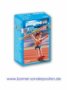 Playmobil Speerwerferin Sport & Action Sportlerin Olympischer Sport Neuware OVP!
