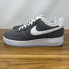Nike Air Force 1 07 AF1 Iron Grey White Mens Size 14 New Shoes (CN0866-002)