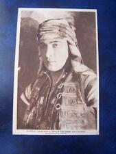 Rudolph Valentino in Son Of The Sheik