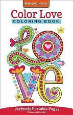 Color Love Coloring Book Perfectly Portable Pages By Thaneeya McArdle Paperback 2015