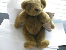 """VINTAGE THE VERMONT TEDDY BEAR COMPANY 16"""" JOINTED BEAR **RARE**"""