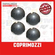 Set 4 Borchie Coppette Coprimozzi Calotte Fiat 500 Dal 2007 Fregi Cerchi in Lega