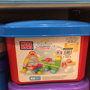 Mega Bloks Junior Builders Build-a-Story Playset