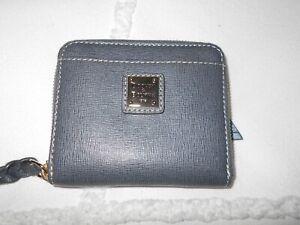 Dooney & Bourke Saffiano Small Zip Around Wallet  NEW