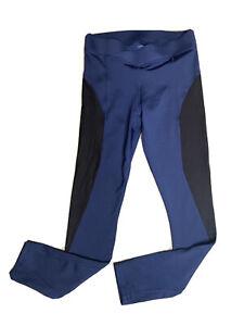 Linear Mesh Ankle Legging By Ivy Park Navy leggings Size M Medium