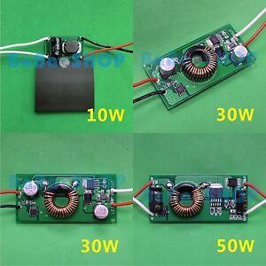 10W 20W 30W 50W 100W DC LED Driver 12V~24V Power Supply for Lamp Light Bulb DIY