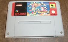 Super Nintendo Super Bomberman 3 [PAL-EUR] Rare Original SNES *JRF*