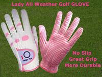 Golf Glove Women Ladies Left Right Hand Pack Lh Rh Medium Large Grip Fit US M L