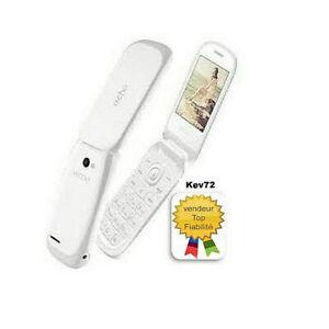 Téléphone Portable simple à clapet Dual Sim débloqué grande touche