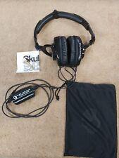 Skullcandy Skullcrushers Supreme Sound Headphones with Subwoofers in Black