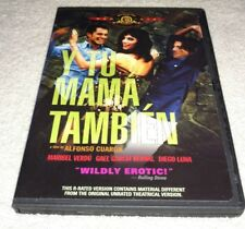 Y Tu Mama Tambien (Dvd, 2002, R-Rated Version) *Rare opp