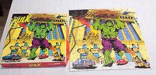Vintage 'Incredible Hulk' Jigsaw - Hestair Puzzles 80 Pieces *VGC* - Marvel RARE