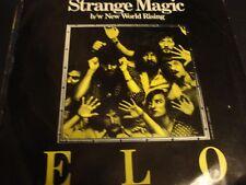 ELO Elecrtic Light Orchestra STRANGE MUSIC / NEW WORLD RISING