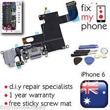 iPhone 6 Grey Lightning Connector Jack Charge Charging Port Dock Headphone Mic