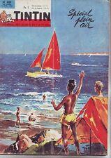 tintin magazine numero 809 - avril 1964 special plein air -