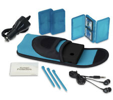 Nintendo DS Starter Kit - Blue/Black by PowerA (NOT INCLUDED CONSOLE/GAMES)