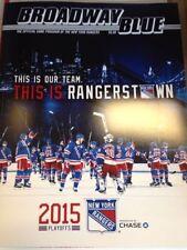 2015 NEW YORK RANGERS WASHINGTON CAPITALS STANLEY CUP PLAYOFFS GAME 7 PROGRAM