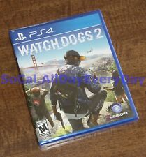 Watch Dogs 2 (PlayStation 4) BRAND NEW & SEALED! Hack_Everything U r in CTRL ps4