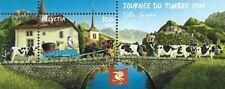 Schweiz Mi.Nr. Block 73** (2019) postfrisch/Tag der Briefmarke 2019 (Bulle)