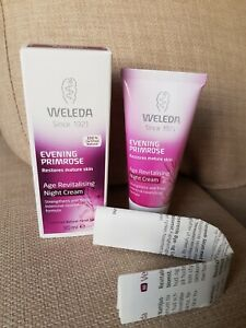 New Weleda Evening Primrose Age Revitalising Night Cream Mature Skin 30ml