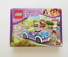New Lego Set 41091 Friends Mias Roadster Car Convertible Factory Sealed NISB