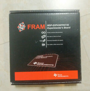 Texas Instruments TI MSP430 FRAM MSP-EXP430FR5739 Experimenter's Board