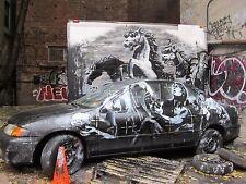 Banksy Street Art Mona War Poster Print A0-A1-A2-A3-A4-A5-A6-MAXI 411