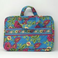 Travel Organizer Tote Bag Unbranded Pink Floral Quilted with Zippered Pockets
