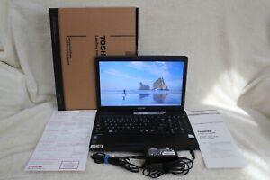 "Toshiba Satellite C655-S5049 Laptop 15.6"" Celeron 2GB RAM 250GB HDD Win10 (or 7)"