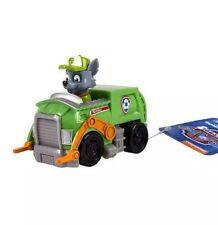 Paw Patrol Racer Rocky Recycling Truck GENUINE Nickelodeon birthday Boy Girl NEW