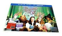 The Wizard of Oz 75th Anniversary Limited Edition 3D Blu-Ray DVD 5-Disc Set RARE